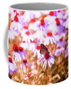 Red Monarch Coffee Mug