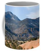 Red Mountain And Pikes Peak Coffee Mug