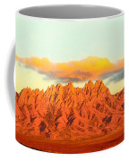 Red Mountain Sunset Organs Coffee Mug