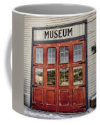 Red Museum Door Coffee Mug