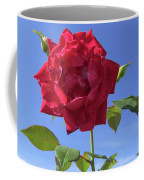 Red On Blue Coffee Mug
