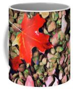 Red On The Rocks Coffee Mug