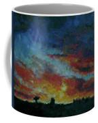 Red Orange Evening Coffee Mug