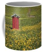 Red Outhouse 6 Coffee Mug