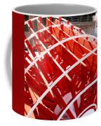 Red Paddle Wheel Coffee Mug