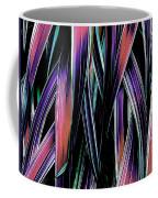 Red Palm Fronds Coffee Mug