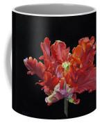 Red Parrot Tulip - Oils Coffee Mug