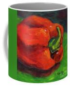 Red Pepper Still Life Coffee Mug