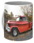 Red Pick-up Coffee Mug by Steve Gravano