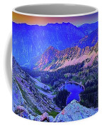 Red Pine Panorama Coffee Mug