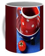 Red Pitcher And Tomato Coffee Mug