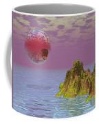 Red Planet Fantasy Coffee Mug