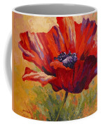 Red Poppy II Coffee Mug