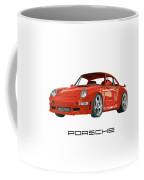 1997  Porsche 993 Twin Turbo R Coffee Mug