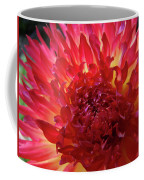 Red Purple Dahlia Flower Summer Dahlia Garden Baslee Troutman Coffee Mug