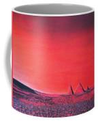 Red Pyramid W Coffee Mug