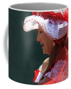 Red Ribbon Bow Coffee Mug