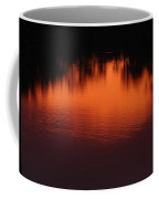 Red Ripples Coffee Mug