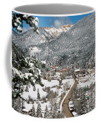 Red River In Winter Coffee Mug
