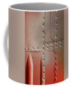 Red Rivets Coffee Mug