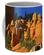 Red Rock Canoyon At Sunset Coffee Mug