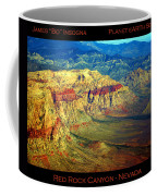 Red Rock Canyon Poster Print Coffee Mug