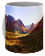 Red Rock Rays Coffee Mug