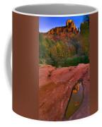 Red Rock Reflection Coffee Mug by Mike  Dawson