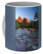 Red Rock Sunset Coffee Mug by Mike  Dawson