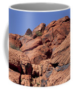 Red Rock Texture Coffee Mug