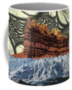Red Rock White Ice Coffee Mug