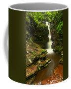 Red Rocks And Lush Green Forest Coffee Mug