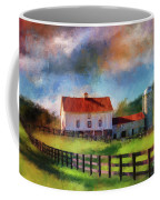 Red Roof Barn Coffee Mug