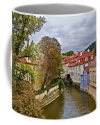 Red Roofs Of Prague Coffee Mug