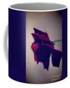 Red Rose Abstract 1 Coffee Mug