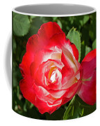 Red Rose And A Sidecar At Pilgrim Place In Claremont-california Coffee Mug