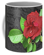 Red Rose For My Lady Coffee Mug