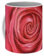 Red Rose Pastel Painting Coffee Mug