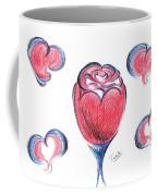 Red Rose- With Love  Coffee Mug