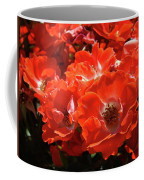 Red Roses Botanical Landscape 1 Red Rose Giclee Prints Baslee Troutman Coffee Mug