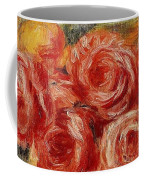 Red Roses Pierre-auguste Renoir Coffee Mug