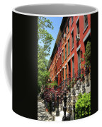 Red Row Houses Coffee Mug