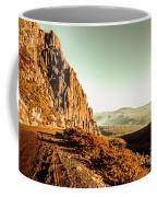 Red Rural Road Coffee Mug
