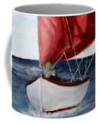 Red Sail Serenity Coffee Mug