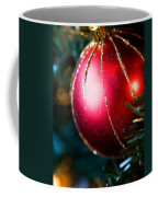 Red Shiny Ornament Coffee Mug