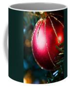 Red Shiny Ornament Coffee Mug