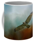 Red Shoulder In Autumn Coffee Mug