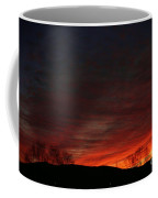 Red Skies At Night Coffee Mug