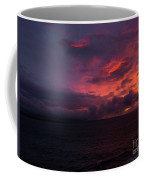 Red Skies At Night Hawaii Coffee Mug