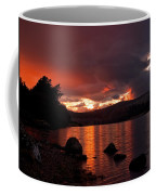 Red Skies Over Loch Rannoch Coffee Mug